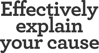 Effectively-explain-your-cause-online-donations