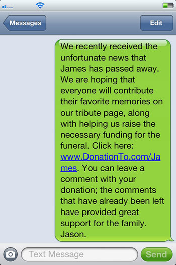 text-fundraising-donationto