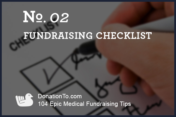 medical-fundraising-check-list