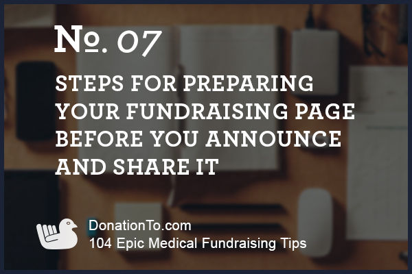 medical-fundraising-preparing