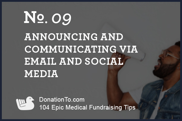 medical-fundraising-social-media-email