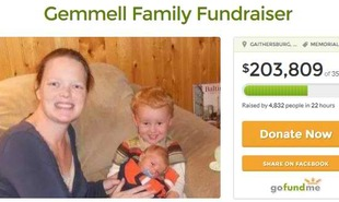 Fundraiser for Gemmell Family